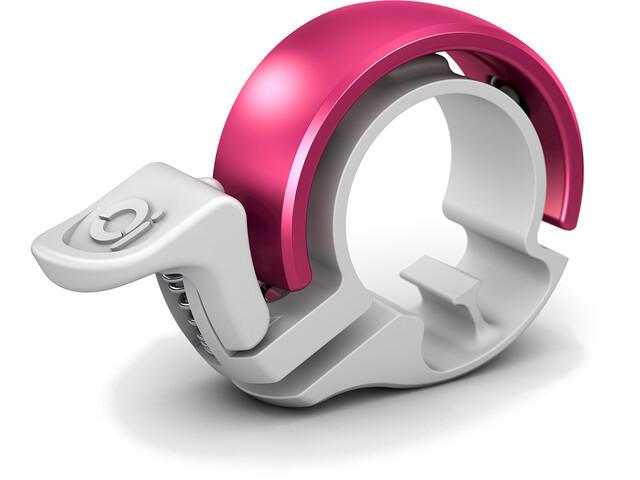 Knog Oi Classic Ringeklokke pink/hvid